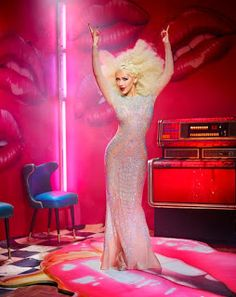 CHRISTINA AGUILERA SIZZLES IN NEW PROMO PICTURES FOR THE VOICE SEASON 10