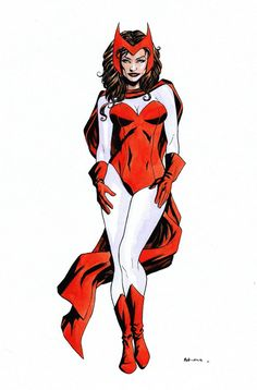 Scarlet Witch by Mike McKone