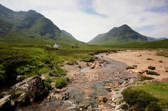 The River Coupall in Glen Coe (Glencoe), Highland, Scotland. Walking Holiday, Walking Tour, Highland Whisky, West Highland Way, Glen Coe, Hiking Tours, Fort William, Cottages By The Sea, Adventure Holiday