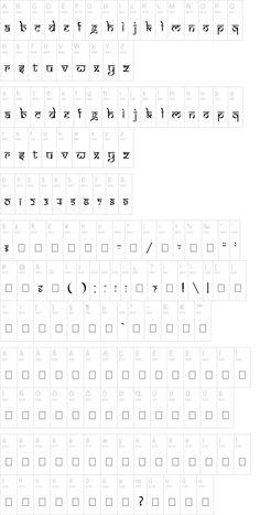 Indian font - looks like hindi but it's English