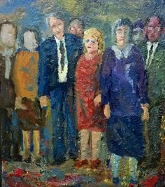 Spectators oil on canvas 1996 Oil On Canvas, Painting, Art, Craft Art, Painted Canvas, Paintings, Kunst, Oil Paintings, Gcse Art