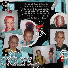 Kit: Barber Shoppe by Scraps N Pieces  Template: Template Pack 24 by AKDesigns