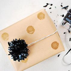 Turn old VHS & cassette tapes into 5 types of pom pom party decor (w/ video tutorial)