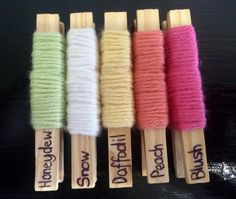 Spring has sprung colour palette in Bendigo Woollen Mills 8ply cotton.