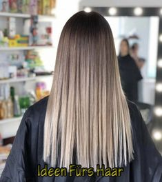 87 unique ombre hair color ideas to rock in 2018 - Hairstyles Trends Balayage Straight Hair, Brown Hair Balayage, Brown Blonde Hair, Hair Color Balayage, Hair Highlights, Ashy Blonde, Blonde Balayage, Blue Hair, Turquoise Hair Ombre
