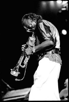 Miles Davis, jazz musician, trumpeter, bandleader, and composer. Widely considered one of the most influential musicians of the 20th century, he was at the forefront of several major developments in jazz music, including bebop, cool jazz, hard bop, modal jazz, and jazz fusion. His 'Kind of Blue' album has been described by many music writers not only as his best-selling album, but the greatest jazz album of all time, his magnum opus, and one of the most influential albums ever made. R.I.P.
