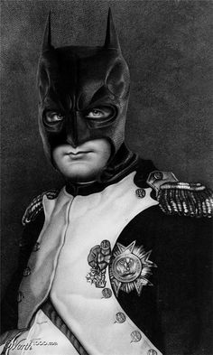 Super Heros Reflected in Renaissance Style Paintings | mAd HaTter ArT