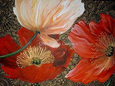 Three Poppies II by Cherie Roe Dirksen
