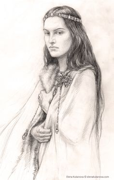 """Morwen did not gainsay him, for in Hurin's company the hopeful did ever seem the more likely. But there was knowledge of Elven lore in her kindred also, and to herself she said, """"And yet did they not leave the light, and are they not now shut out from it? It may be that the Lords of the West have put them out of their thought, and how then can even the Elder Children overcome one of the Powers?"""""""