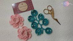Aprenda a fazer uma Linda Flor !!!! Freeform Crochet, Irish Crochet, Crochet Motif, Crochet Designs, Crochet Flowers, Crochet Patterns, Flower Video, Crochet Cushions, Irish Lace