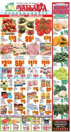 Vallarta Weekly Ad Flyer September 7 - 13, 2016 - http://www.olcatalog.com/grocery/vallarta-weekly-ad-fleyer.html