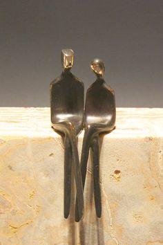 Figurines de bronze romantiques. Pour les amoureux et les couples aimants.  Ces…