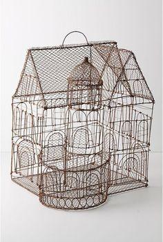 Anthroplologie's Aviary Castle