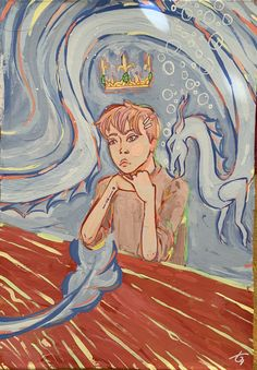 Original Art, Dragon, Princess Zelda, The Originals, Painting, Fictional Characters, Painting Art, Dragons, Paintings