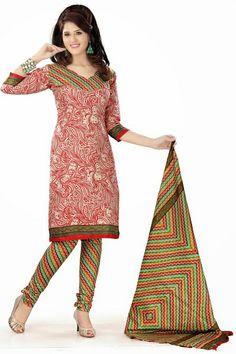 Cotton Salwar Kameez - fashionable suits for attend party, events, special occasions. #suits #kameez #salwar