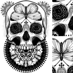 Tom Gilmour / Obscure Tattoo Art http://www.tomgilmour.com/about#