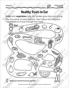 Healthy treats to eat parents: learning activities for kids, Nutrition Activities, Kids Learning Activities, Space Activities, Dental Health Month, Body Grow, Healthy Eating For Kids, Eat Healthy, Healthy Bodies, Healthy Salads