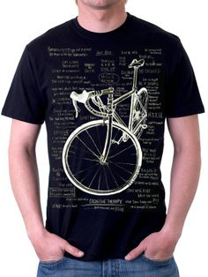 Cognitive therapy men's t-shirt in black
