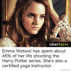 #UberFacts #Celebrities #EmmaWatson