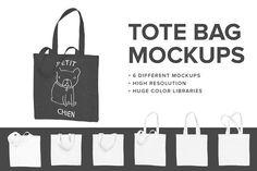 Premium Tote Bag Mockups  @creativework247
