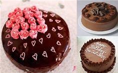 Tuyệt xinh các mẫu bánh sinh nhật cho nàng mê chocolate
