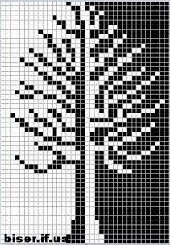 Tree x-stitch