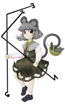 Nazrin is a skilled dowser and the leader of a great number of mice. Her ability is the power to find lost objects & treasure. The Old Days, Manga Art, Mythology, Disney Characters, Fictional Characters, Character Design, Old Things, Disney Princess, Artwork
