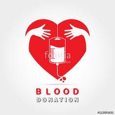 003 Blood Donation Logo B L O o D d O N A T I O N S