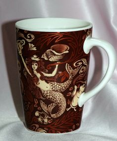 STARBUCKS 35TH ANNIVERSARY BROWN AND GOLD MERMAID MUG