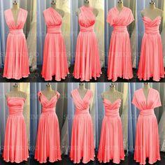 Elegant Wedding Guest Dress, Wedding Party Dresses, Bridal Dresses, Coral Wedding Themes, Coral Bridesmaid Dresses, Bridesmaids, Dress Vestidos, Dama Dresses, Lace Evening Dresses