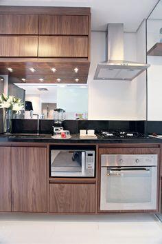 Cocina - electrodomésticos efecto espejo - Salpicadero de espejo