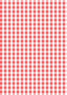 printable red-white gingham wrapping paper