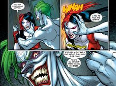 The constant, unending abuse of Harley Quinn - Abusive relationships shouldn't be idolized - Imgur
