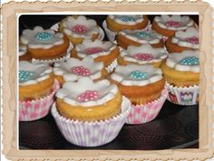 Cup cakes λεμονιού