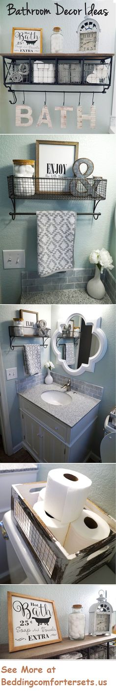 Full Bathroom Makeover with Floors and Paint #BathroomFaucets