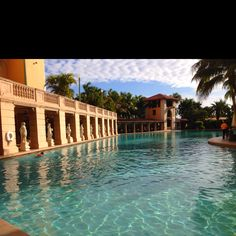Biltmore hotel has an amazing pool