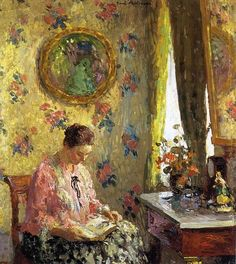 Gari Melchers, Lady Reading