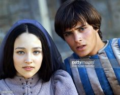 British actors Leonard Whiting as Romeo and Olivia Hussey as Juliet in 'Romeo And Juliet 1968