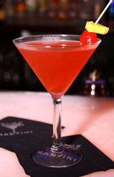 Whipped Dream Martini    1 3/4 oz. Peach Schnapps  1 3/4 oz. whipped cream vodka  1 oz each pineapple juice and cranberry juice