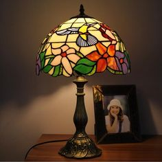 Garden Song Tiffany Bed Lamp
