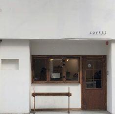 Cafe Shop Design, Store Design, Korea Cafe, Mini Cafe, Cream Aesthetic, Cafe Food, Ulzzang, Coffee Shop, Blinds