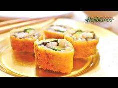 Sushi maki frito - Recetas de Cocina