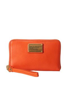 Marc by Marc Jacobs Classic Q Mildred Zip Around Leather Wallet