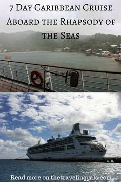 Caribbean Cruise Aboard the Rhapsody of the Seas ... Read more on thetravelinggals.com #cruiseship #royalcaribbean #travel