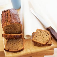 Banana yogurt cake is simple enough for children to make and a great way to use up ripe bananas.