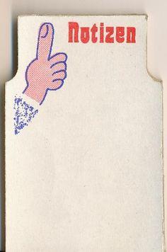 DDR Museum - Museum: Objektdatenbank - Notizblöcke, unbeschrieben    Copyright: DDR Museum, Berlin. Eine kommerzielle Nutzung des Bildes ist nicht erlaubt, but feel free to repin it!