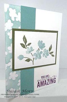 Painted Petals, Irresistibly Yours, 2014 Occasions Catalog, 2015 SAB, Stampin Up, susanstamps.wordpress.com