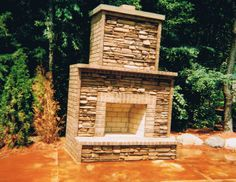 brick and stone fireplace pictures | The Brick and Stone Artist