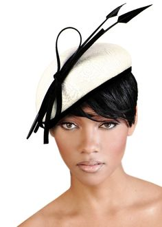 Beanie Beret Fascinator by Mr Song Millinery by ffortissimo, $49.00