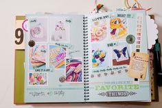 Aprenda a documentar seu dia-a-dia com um álbum de scrapbook diferente usando Smash Book e Project Life.